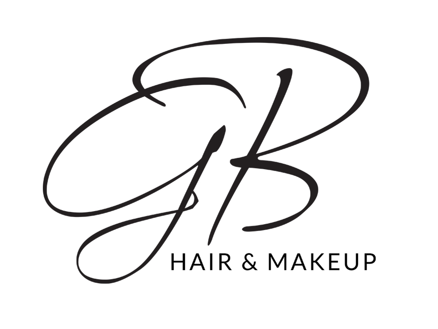 GB Hair and Makeup Logo ontwerp - door Logo4Life