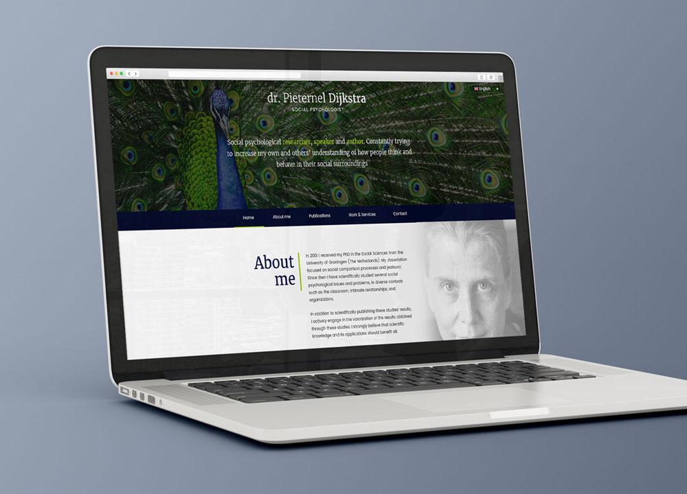 Website ontwerp Pieternel Dijkstra