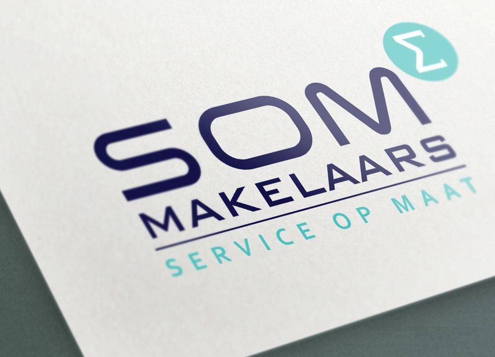 Logo ontwerp SOM Makelaars