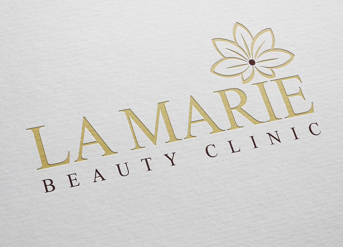 Logo ontwerp La Marie Beauty Clinic