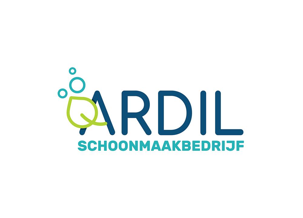 Logo ontwerp Ardil schoonmaakbedrijf