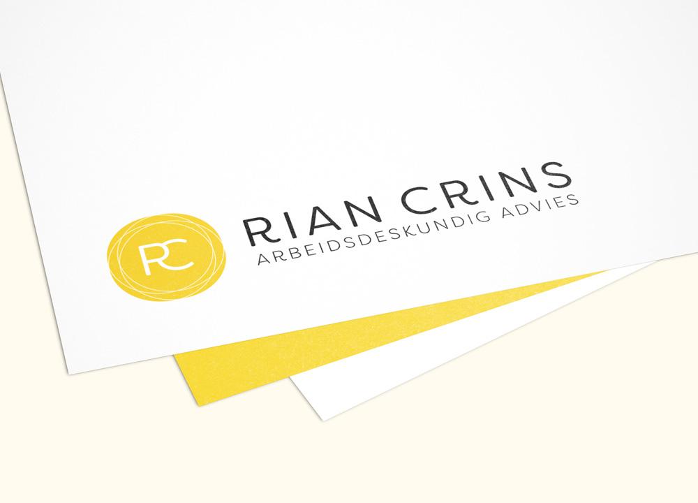 Logo ontwerp Rian Crins