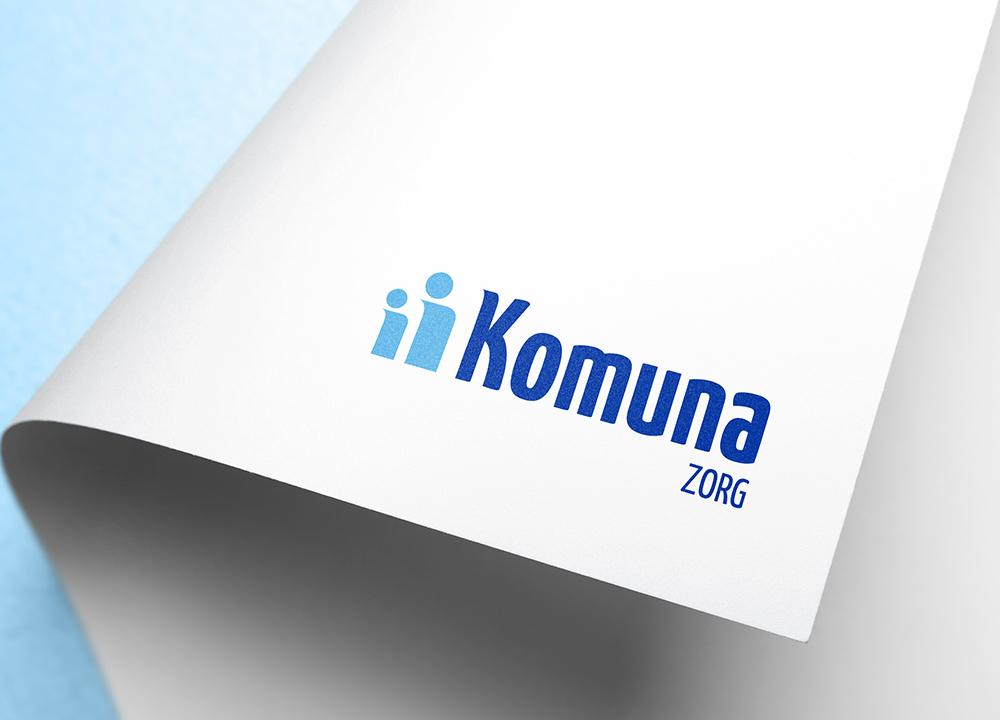 Logo ontwerp Komuna Zorg