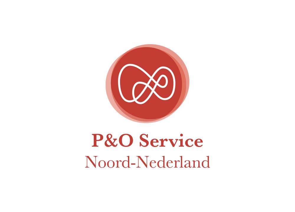 Logo ontwerp P&O Service Noord-Nederland
