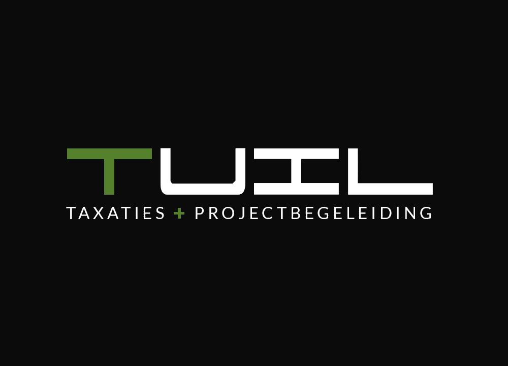 Logo ontwerp Tuil Taxaties & Projectbegeleiding