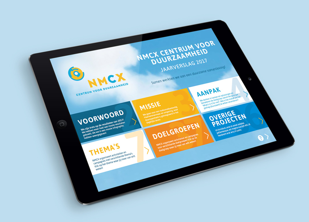 Interactief jaarverslag NMCX