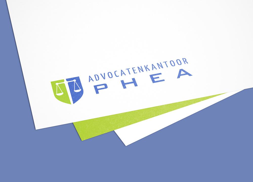 Logo ontwerp Advocatenkantoor Phea