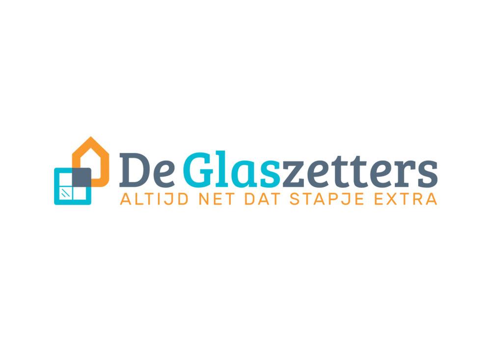 Logo ontwerp De Glaszetters