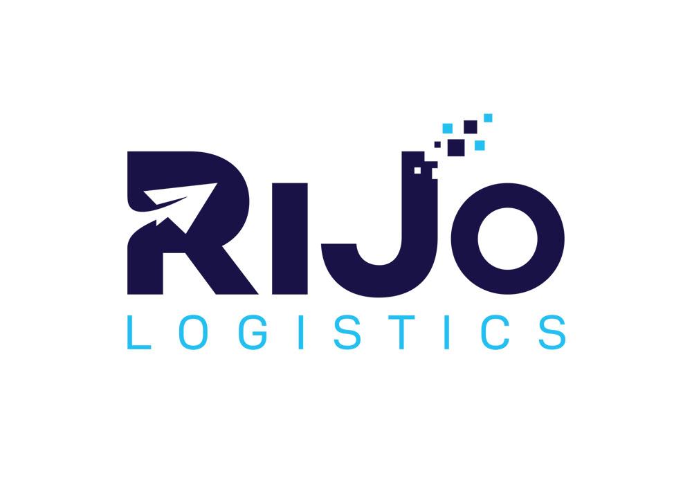 Logo ontwerp van Rijo Logistics