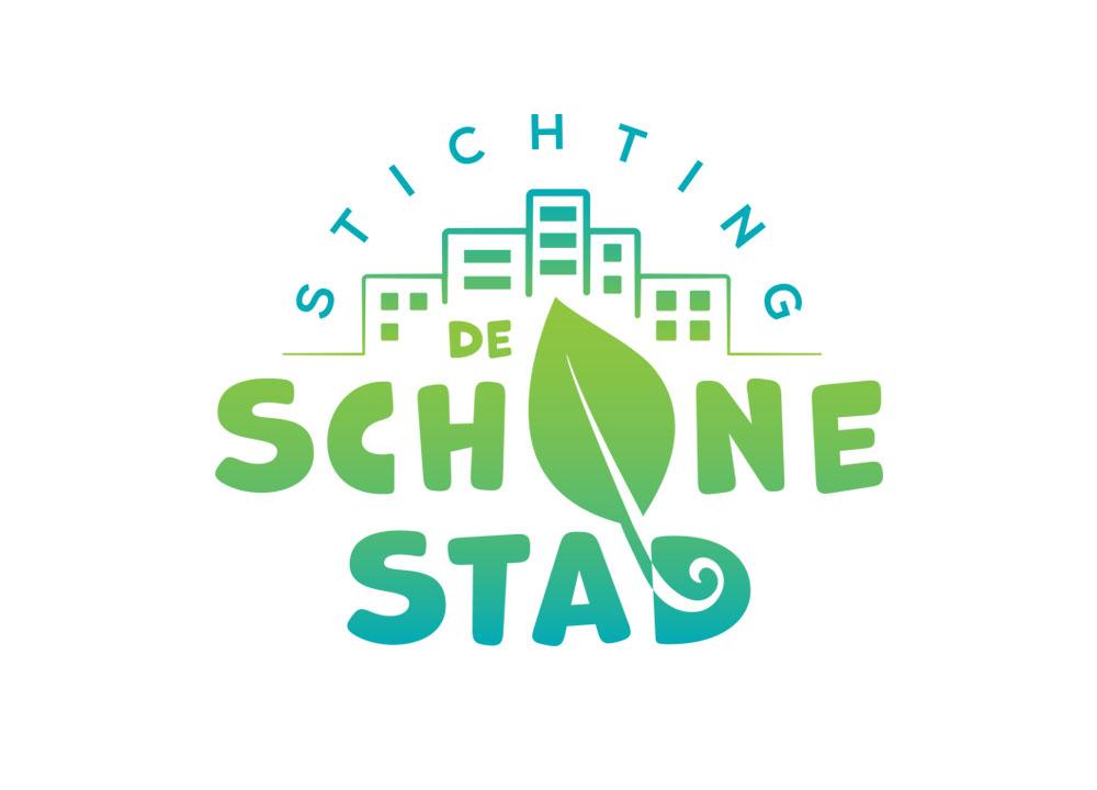 Logo ontwerp van Stichting de Schone Stad