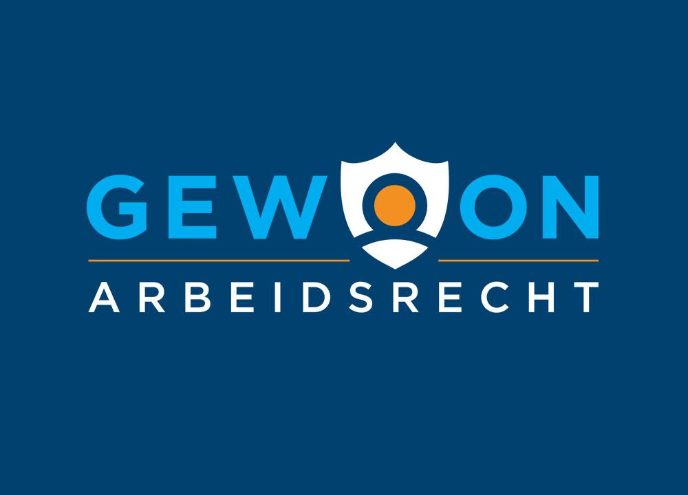 Logo ontwerp van Gewoon Arbeidsrecht