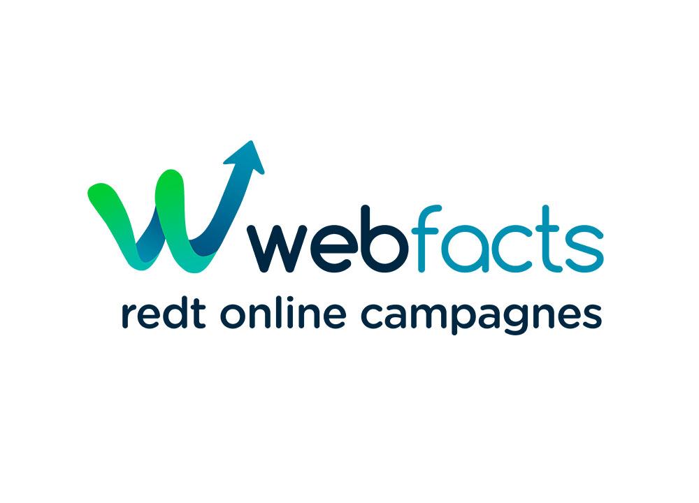 Logo ontwerp van Webfacts