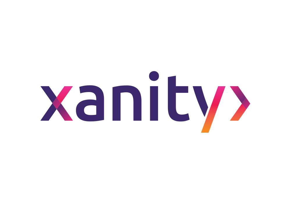 Logo ontwerp van Xanity