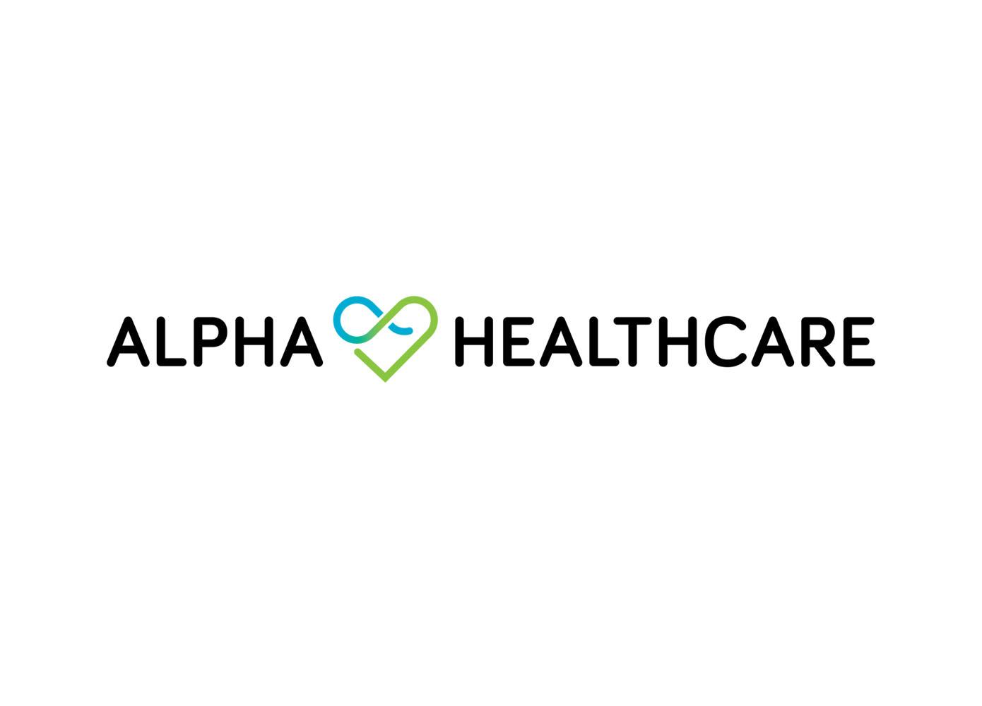 Logo ontwerp Alpha Healthcare