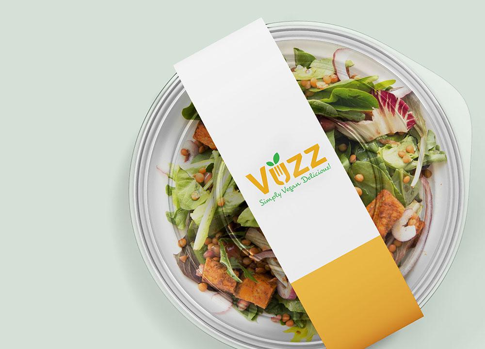 Logo ontwerp op product van Vuzz