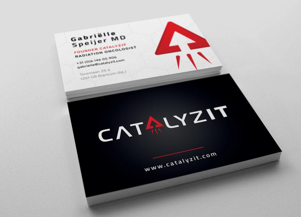 Visitekaartjes ontwerp CatalyzIT