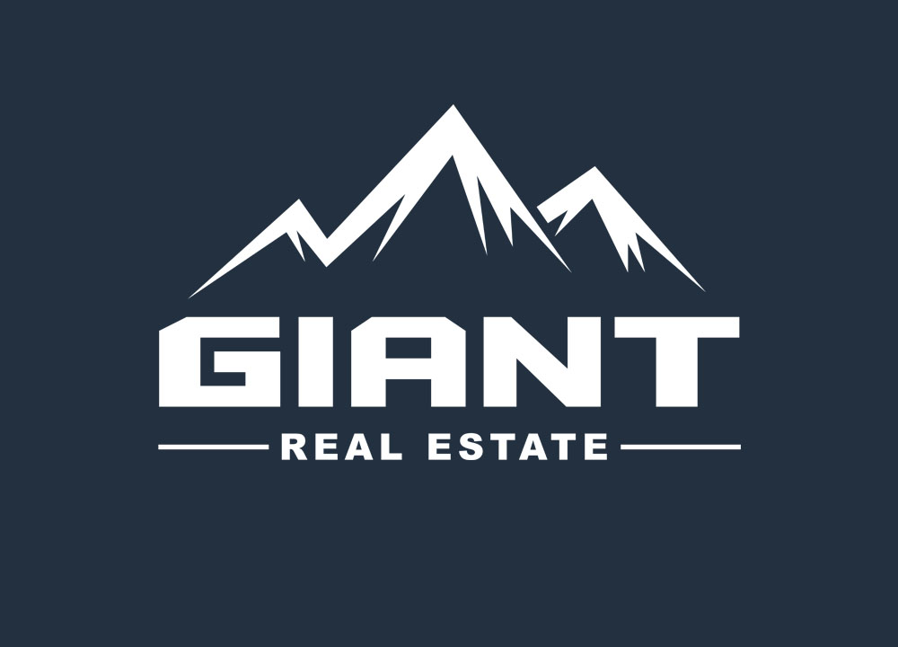 Logo ontwerp van Giant Real Estate
