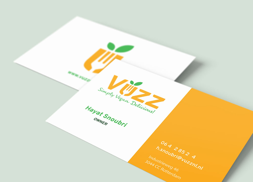 Visitekaartjes van Vuzz