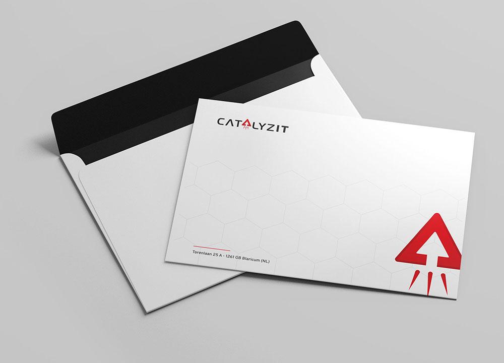 Ontwerp enveloppen CatalyzIT