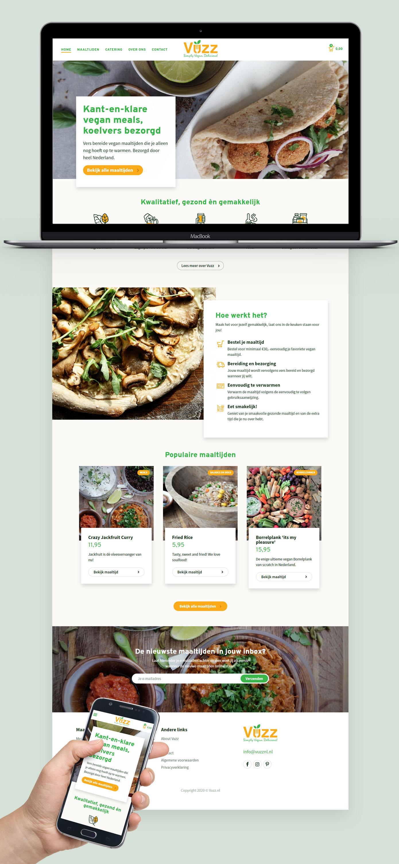 Website van Vuzz